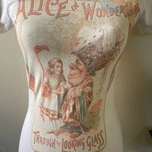 Alice in Wonderland Through the Looking Glass Tee